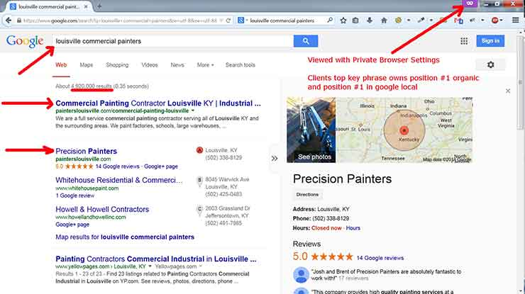 SEO Case Studies Precision2