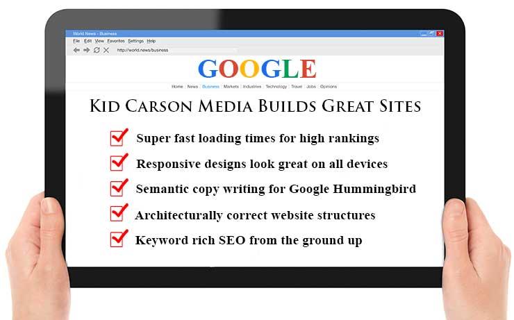 Louisville Web Design Company Kid Carson Media